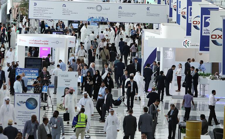 مقابلتنا في معرض ومؤتمر أبو ظبي الدولي للنفط