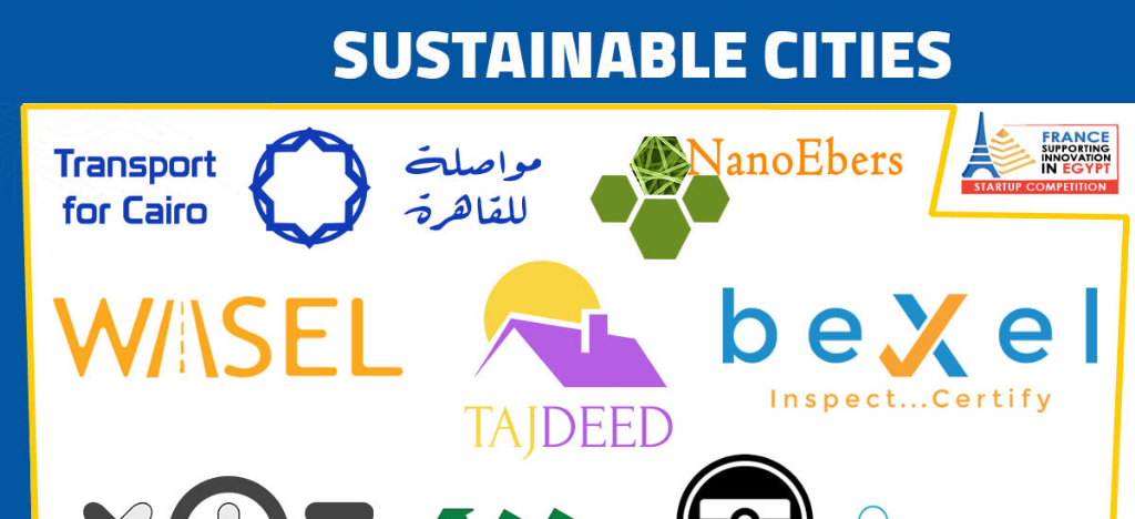 bexel got qualified for last 10 start up in the French Egyptian Start Up Competition