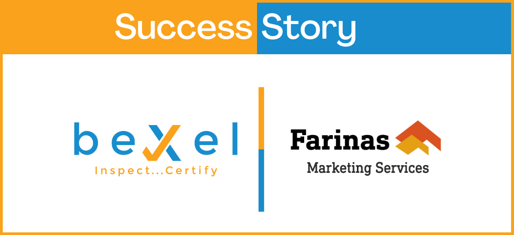 Farinas professional marketing strategy add a new success to beXel